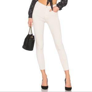 J Brand Alana High Rise Crop Jeans Honesty 30 F920